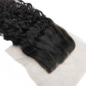 Curly Wavy Lace Closure 18""