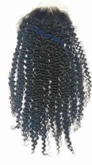 Kinky Curly Lace Closure 18""