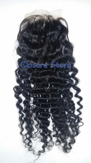Deep Curly Lace Closure 18""