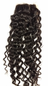 Deep Wavy Silk Based Closure 18""