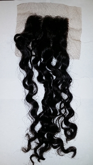 Loose Curly Lace Closure 18""
