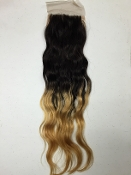 Loose Wave Ombre'Silk Based Closure 18""