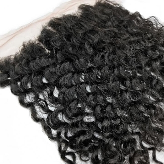 Curly Wavy Frontal 18""