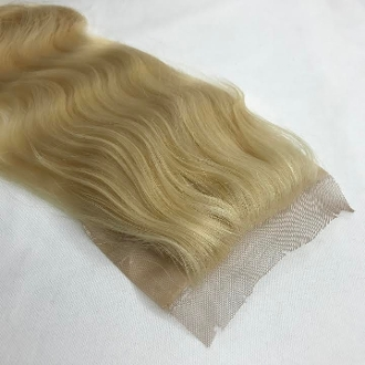 Russian Platinum Body Wave Silk Based Closure 18""