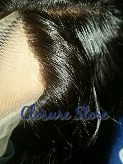 Straight Lace Frontal 18""